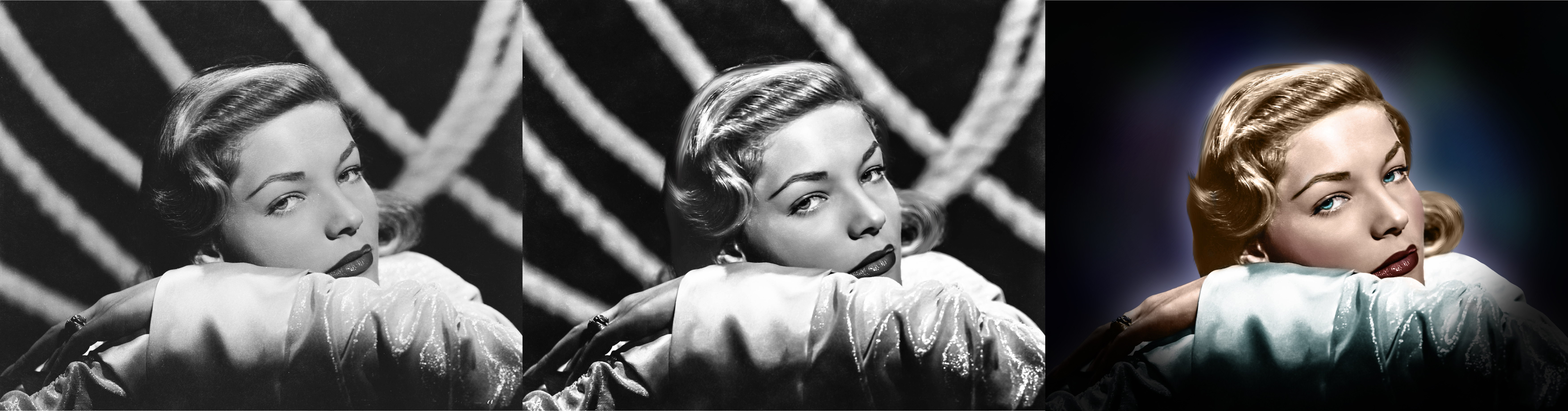 Lauren Bacall3Stages